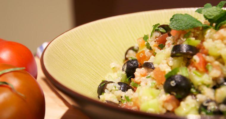 Ensalada Taboulé con Quinoa