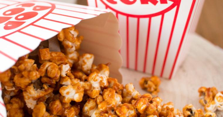 Palomitas de caramelo | Caramel popcorn