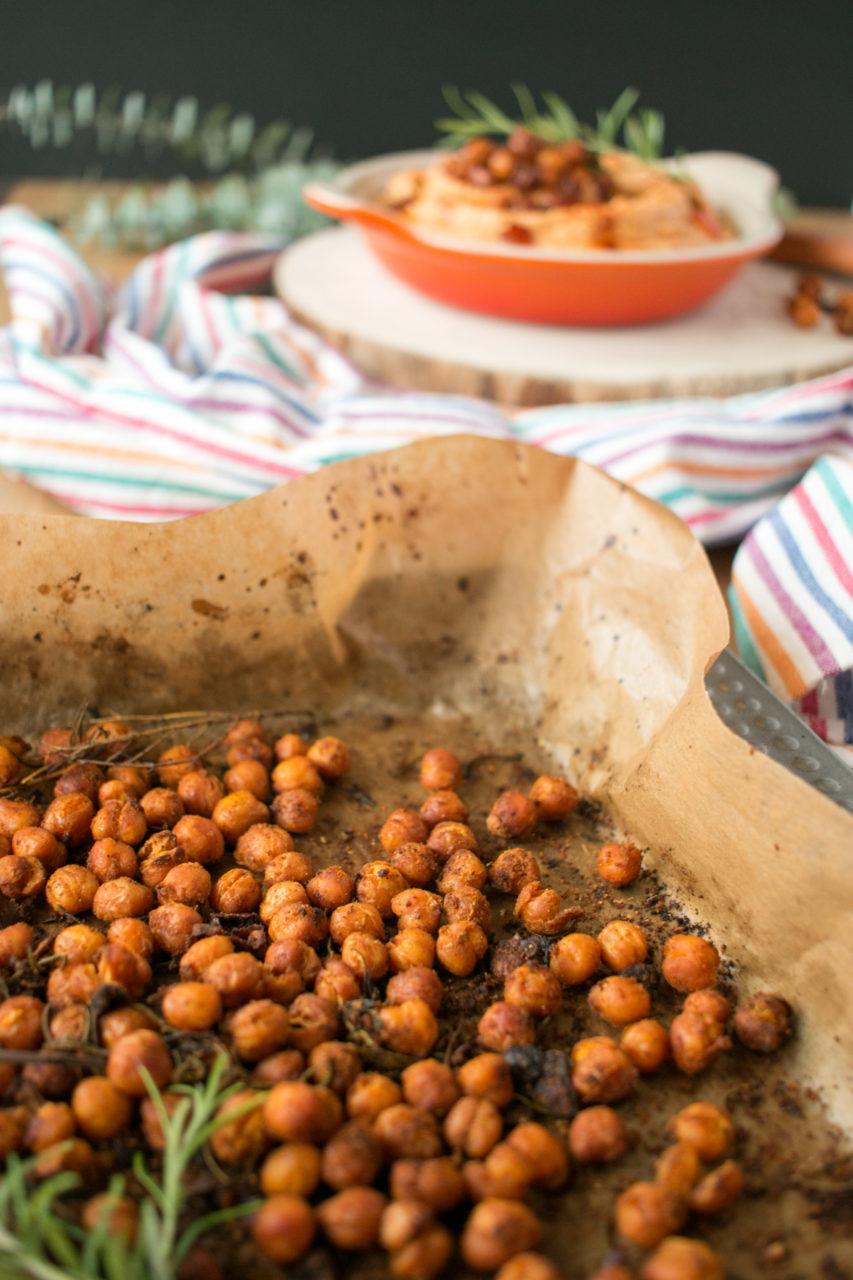 Garbanzos al horno | Baked chickpeas