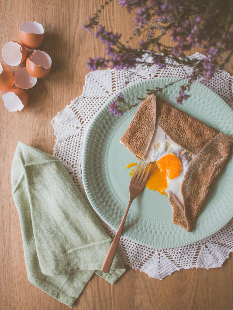 Galette de sarraceno | Buckwheat galette