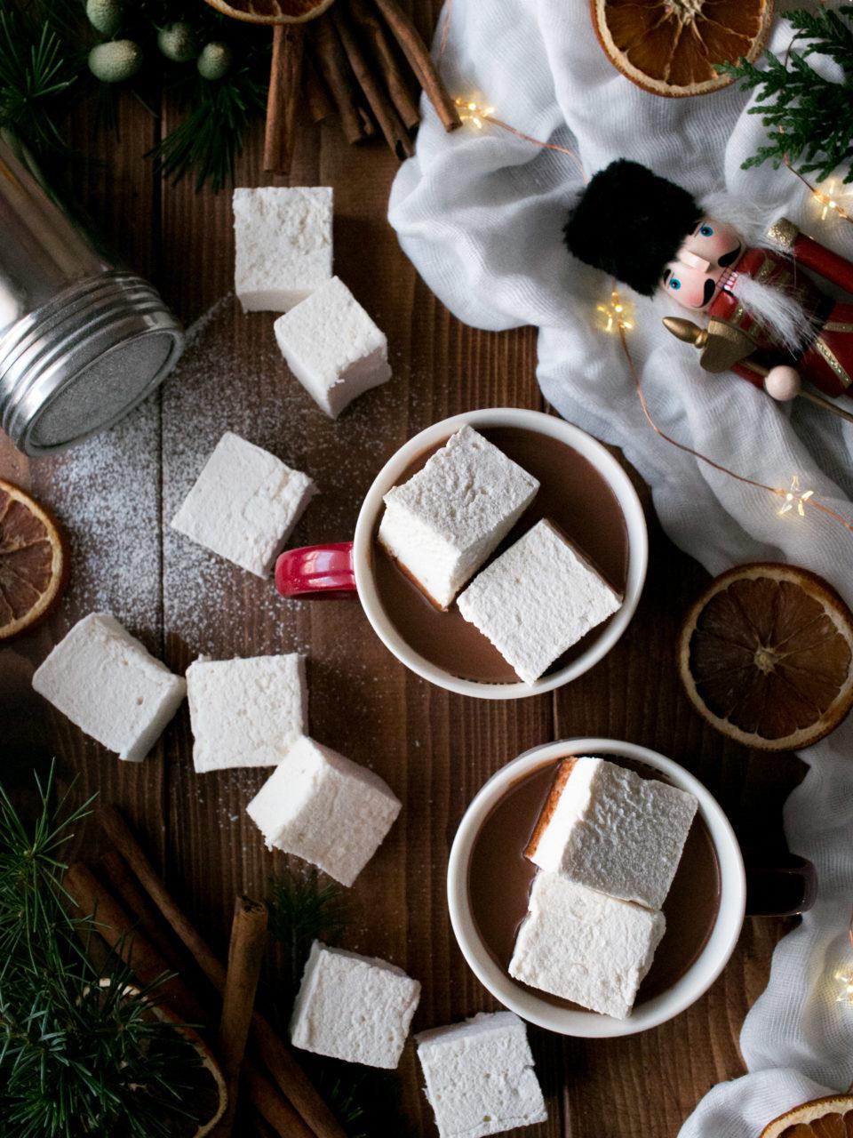 Nubes o malvaviscos caseros | Homemade marshmallows