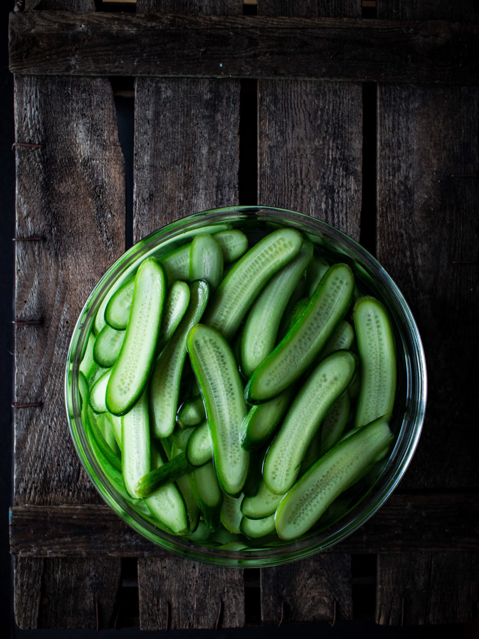 Pepinillos encurtidos | Pickled cucumbers