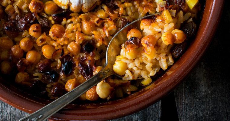 #instarecipe · Arroz al horno | Baked rice ·