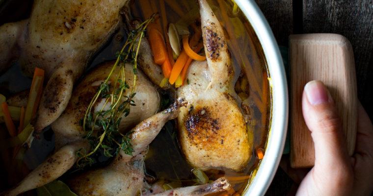 #instarecipe • Codornices en escabeche | Marinated quail •