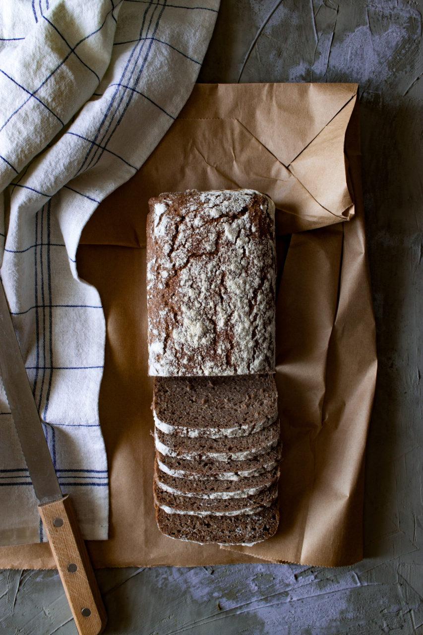 #instarecipe · Pan de centeno 100% | 100% Whole rye bread ·