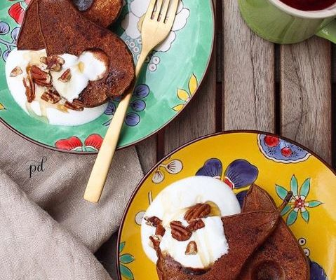 #instarecipe · Peras al horno | Baked pears ·