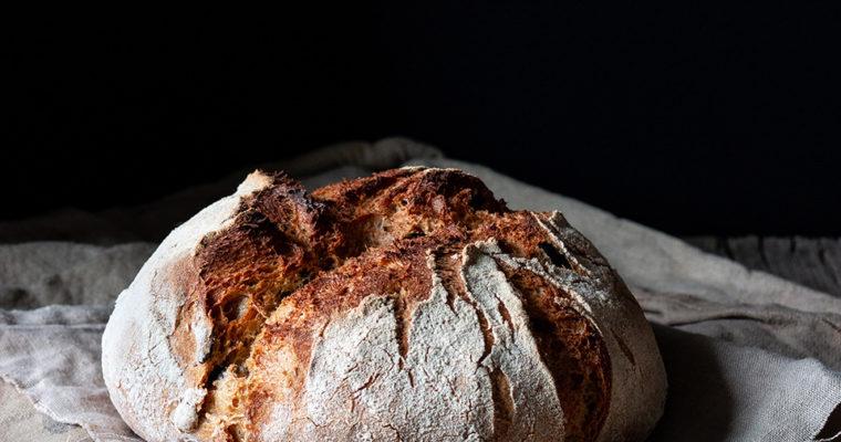 #instarecipe •Pan de payés de masa madre | Sourdough payes bread•
